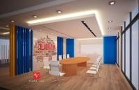 Thiết kế nội thất văn phòng ADT