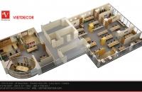 Thiết kế, thi công nội thất văn phòng công ty DTT