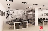 thiết kế nội thất văn phòng tòa nhà lotte (phòng bếp trưởng)