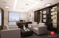 thiết kế nội thất văn phòng tòa nhà lotte (phòng chủ tịch và phó chủ tich)