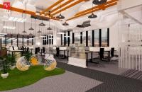 Thiết kế nội thất văn phòng VCCORP tầng 21