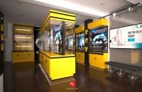 Thiết kế và thi công showroom đèn led HIKARI