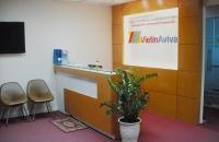 Thiết kế thi công nội thất văn phòng công ty VIETIN AVIVA