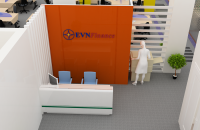 Thiết kế thi công nội thất văn phòng công ty điện lực EVN