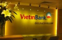 Thiết kế thi công cửa hàng vàng bạc và đá Quý Viettin Bank