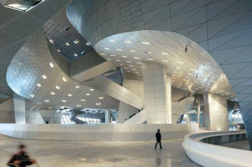 thiết kế trung tâm hội nghị Đại Liên